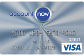 AccountNow Prepaid Visa Card