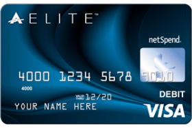 ACE Elite Blue Visa Prepaid Card