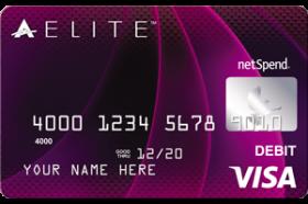 ACE Elite Purple Visa Prepaid Card