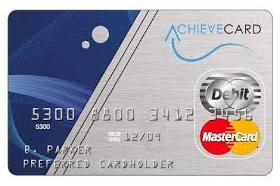 AchieveCard Visa Prepaid Card
