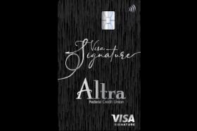 Altra Federal Credit Union Visa Signature Credit Card