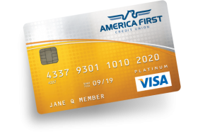 America First Credit Union Platinum Rewards Credit Card