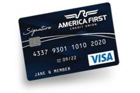 America First Credit Union Visa® Signature Credit Card