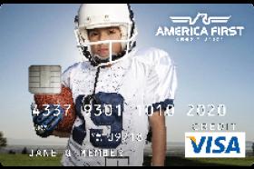 America First Credit Union Secured Visa Credit Card