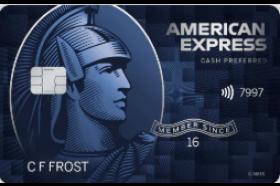 American Express National Bank Blue Cash Preferred Credit Card