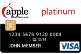 Apple Federal Credit Union Visa Platinum Educator Credit Card