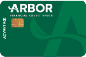 Arbor Financial Credit Union Advantage Visa Credit Card