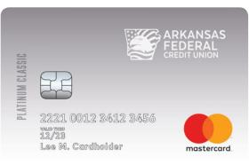 Arkansas Federal Credit Union Platinum Classic Mastercard®