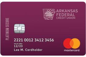 Arkansas Federal Credit Union Platinum Secure Mastercard®