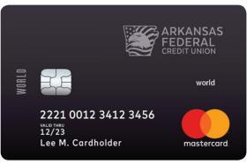 Arkansas Federal Credit Union World Mastercard® Credit Card
