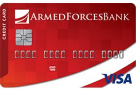 Armed Forces Bank Credit Builder Secured Visa® Credit Card