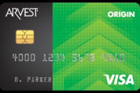 Arvest Bank Origin™ Credit Cards