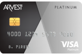 Arvest Bank Platinum Credit Card