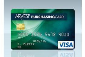 Arvest Bank Visa® Purchasing Credit Card