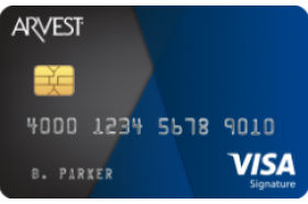 Arvest Bank Visa Signature® Credit Card