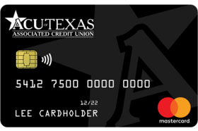 Associated Credit Union of Texas Unsecured Business MasterCard
