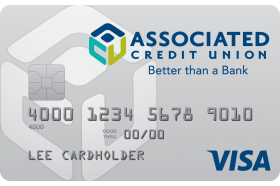 Associated Credit Union Visa Platinum Preferred Credit Card