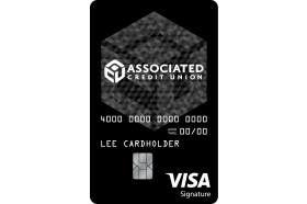 Associated Credit Union Visa Prosper Signature Credit Card