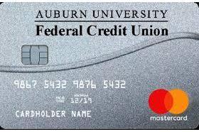 Auburn University Federal Credit Union Platinum MasterCard