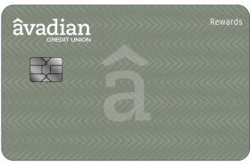 Avadian Credit Union Visa Rewards Credit Card