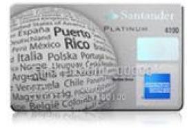 Banco Santander Puerto Rico Santander Platinum American Express Credit Card