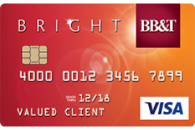 BB&T Bright Visa Card