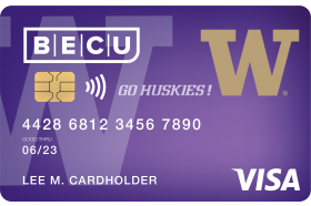 BECU UW Secured Credit Card