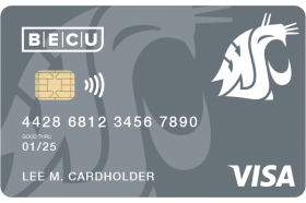 BECU WSU Secured Credit Card