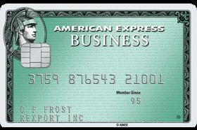 Business Green Rewards Card