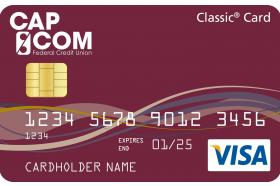 CAP COM Federal Credit Union Visa Classic Credit Card