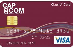 CAP COM Federal Credit Union Visa Classic Secured Credit Card