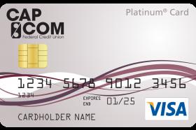 CAP COM Federal Credit Union Visa Platinum Card