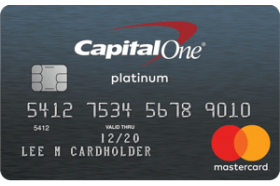 Platinum Credit Card From Capital One