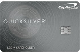 Capital One Quicksilver Rewards for Good Credit