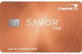 Capital One SavorOne Rewards for Good Credit