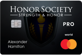 Celtic Bank Deserve® Honor Society Pro Card