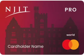 Celtic Bank Deserve® NJIT EDU Pro Card