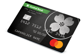 Central Bank The Only Card Mastercard®
