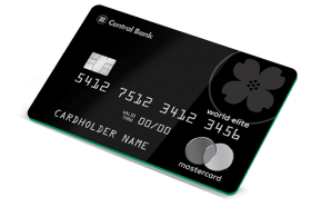 Central Bank World Elite Mastercard®