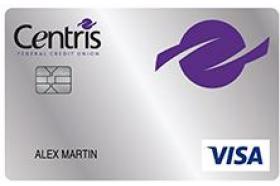 Centris Federal Credit Union Secured Visa® Credit Card