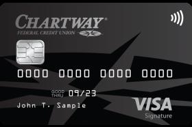 Chartway Federal Credit Union Visa® Signature Rewards Credit Card
