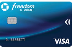 Chase Bank USA Freedom® Student Credit Card