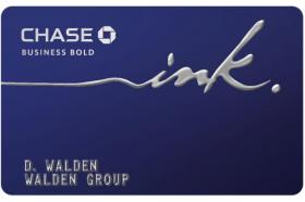 Chase Ink Bold Business Card