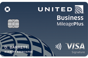 Chase Bank USA United Business Credit Card