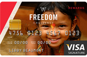 Christian Community Credit Union Freedom Challenge Visa® Credit Card