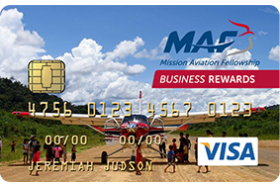 Christian Community Credit Union MAF Visa® Business Rewards Credit Card