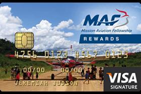 Christian Community Credit Union MAF Visa® Signature Rewards Credit Card
