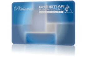 Christian Financial Credit Union Visa Platinum Credit Card