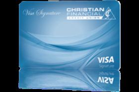 Christian Financial Credit Union Visa Signature Credit Card