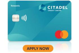 Citadel Credit Union Cash Rewards Mastercard®